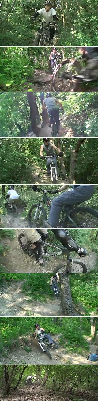 Mountainbike-Trail WWW: Weitwanderweg - Leopoldsberg / Wien