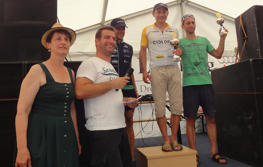 riesen-trophy 2013 - podium herren